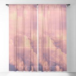 Cloudscape II Sheer Curtain