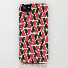WTU PATTERN PRINT 3 iPhone Case