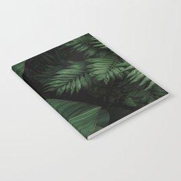 Tropical Beauty // Tropical Boho Leaves meets Minimalist Patterns Notebook