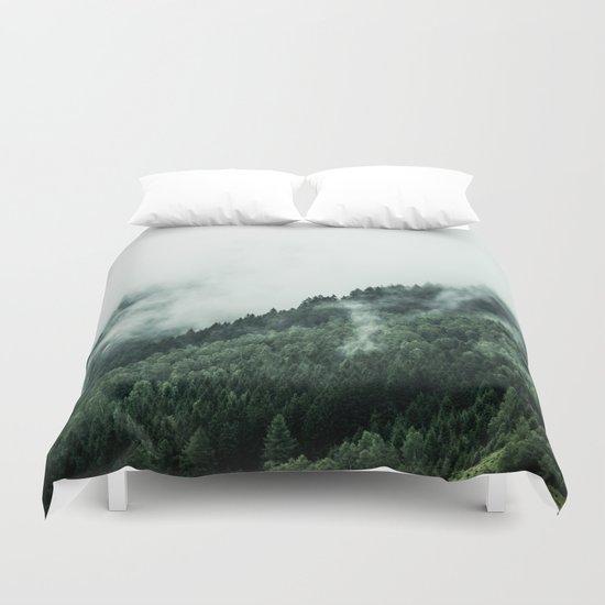 Foggy Woods 1 Duvet Cover