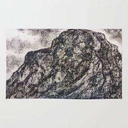 Grey Moutain by Gerlinde Streit Rug