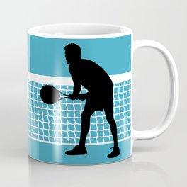 TENNIS indoor Return Net Coffee Mug