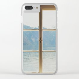 gmunden 11 Clear iPhone Case