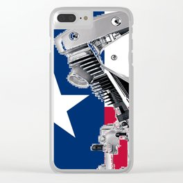Texas Lone Star Shovel Clear iPhone Case