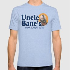 Uncle Bane's 2X-LARGE Mens Fitted Tee Tri-Blue