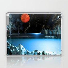 3d Art Digital Art Cave Lake Laptop & iPad Skin