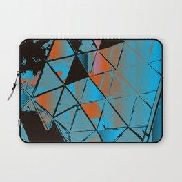 Molecular Glitch Laptop Sleeve