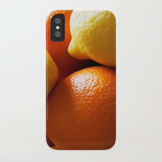 Oranges & Lemons iPhone Case