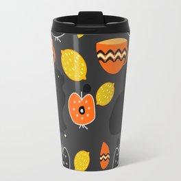 Cats, lemons and teacups Travel Mug