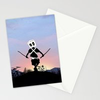 Deapool Kid Stationery Cards