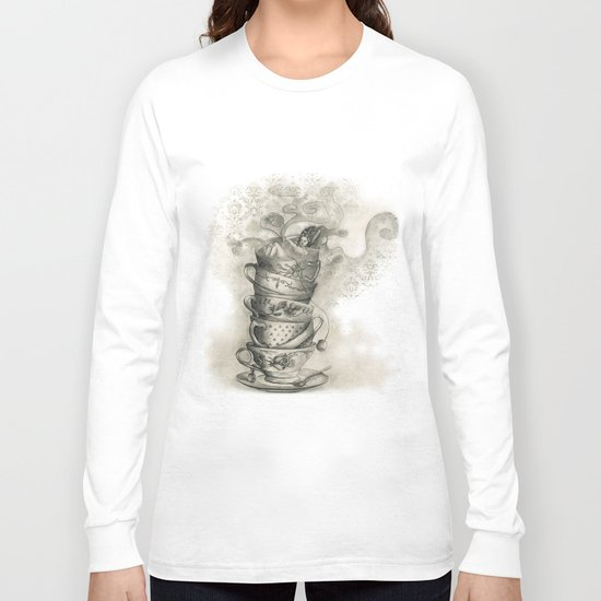 Tea bath Long Sleeve T-shirt