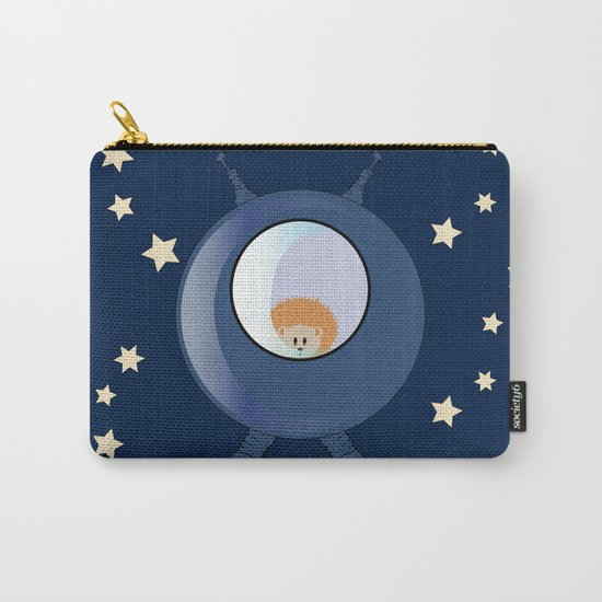 Hedgehog in space. Carry-All Pouch