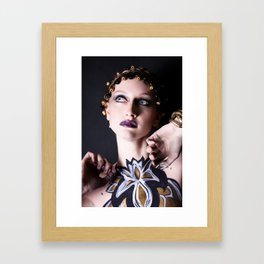 Gold Goddess VII. Framed Art Print