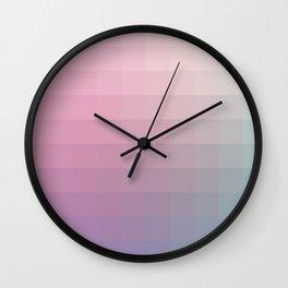 Lumen, Violet and Blue Light Wall Clock