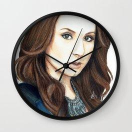 PLL - Troian Bellisario Wall Clock