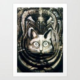 Giger Behemoth Art Print