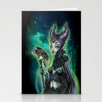 evil Stationery Cards featuring EVIL by Tim Shumate
