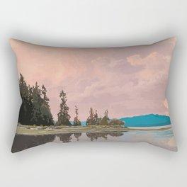 Rathtrevor Beach Provincial Park Rectangular Pillow