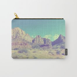 Utah rock landscape Carry-All Pouch