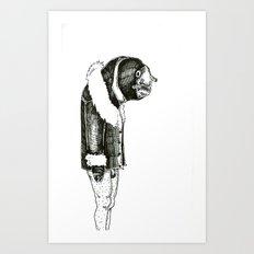The Lonely Eel Art Print