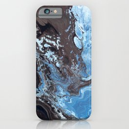 Surfing Surfer Abstract Art Waves iPhone Case