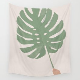 Monstera Leaf Wall Tapestry