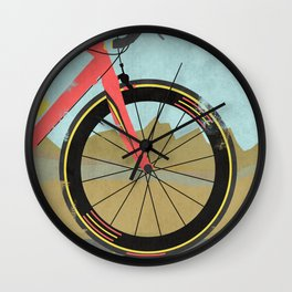 Vuelta a Espana Bike Wall Clock