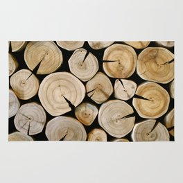 Wood Wall - Streaming Cafe Rug