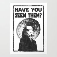 The Bucket Brigade: Search for Imperial Chin Art Print