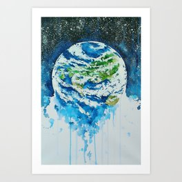 Earthed Art Print