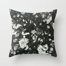 Barnacle Remains Throw Pillow