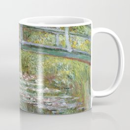 Bridge over a Pond of Water Lilies by Claude Monet Coffee Mug