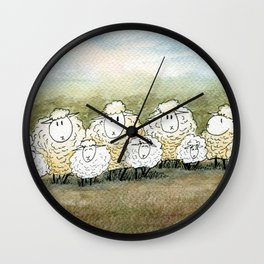 Lambinated Wall Clock