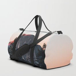 Last Light at Yosemite National Park Duffle Bag