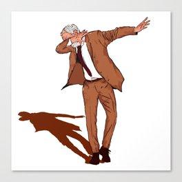 Jeremy Corbyn Labour 2017 DAB ON Dance Canvas Print