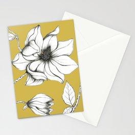 Magnolia Ocra Stationery Cards
