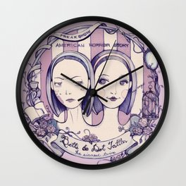 Bette and Dot Wall Clock
