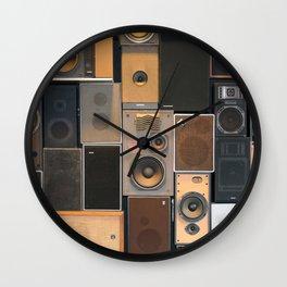 Audio Equipment Wall Clock