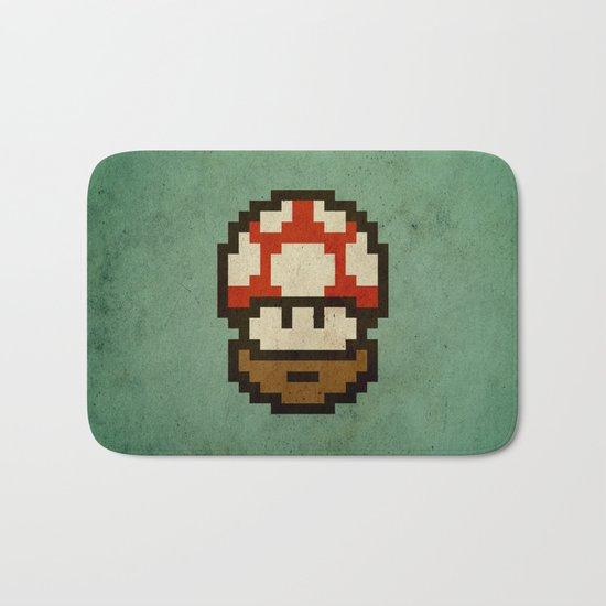 Bearded mushroom Bath Mat