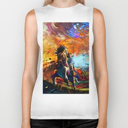 Colorful Horse Biker Tank