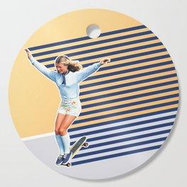 Skate Like a Girl 02 Cutting Board
