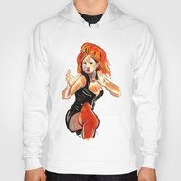 spice Hoodies featuring Ginger Spice by Allison K.