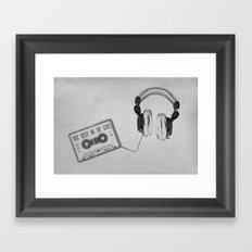 Music, please! Framed Art Print