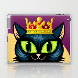 Royal cat Laptop & iPad Skin
