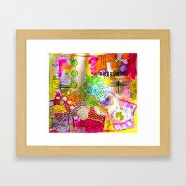 gentle joy Framed Art Print