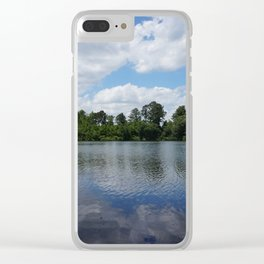 Day At The Lake Clear iPhone Case
