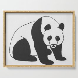 Giant Panda Serving Tray