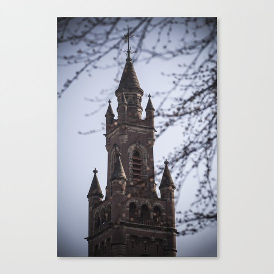 Fairy Tale Tower Canvas Print