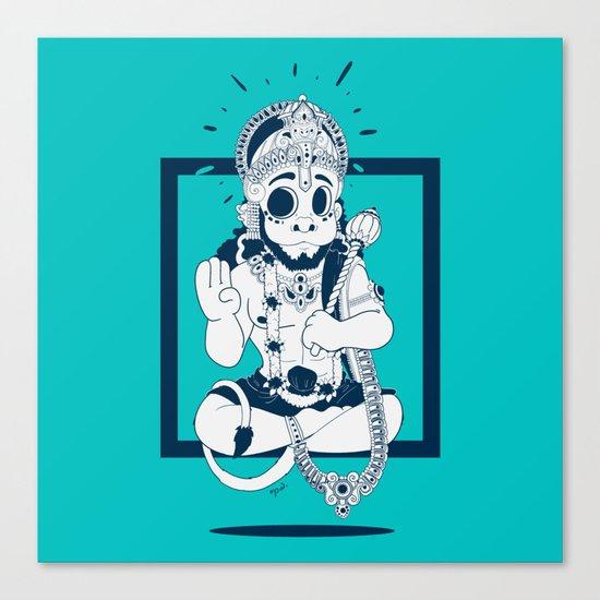 HANOUMAN Canvas Print