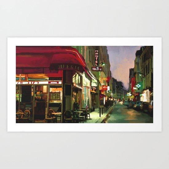 Street99 Art Print